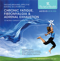 Chronic fatigue, fibromyalgia and chronic illness recovery audio series