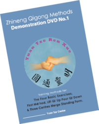 Zhineng Qi Gong DVD No.1: Basic Exercises, Lift Qi Up Pour Qi Down, 3 Centres Merge Standing Form $40